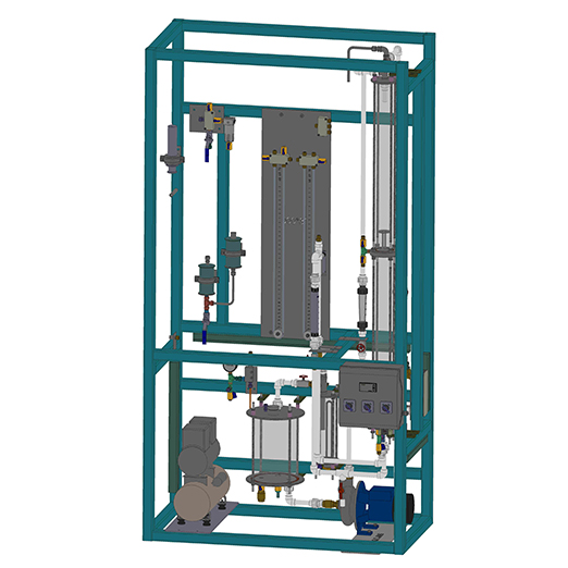 Gas Absorbtion & Desorbtion Unit